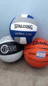 Basketball & Volleyball ($5 each or all for $10)