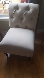 Accent Chairs Ivory