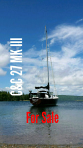 C&C 27 Mk III Sailboat for sale