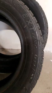 2 205/55/r16 studded winter tires