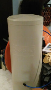Water softener with reverse osmosis filter