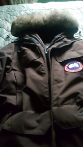 Men's Brown Large Canada Goose Expedition Parka