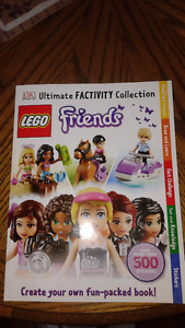 New Lego Friends Ultimate FACTivity Collection Sticker Books