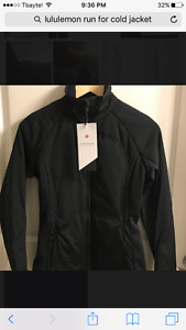size 10 Brand new Lululemon RUN FOR COLD Jacket