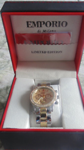 New Womens Emporio di Milano Limited Edition watch new with box