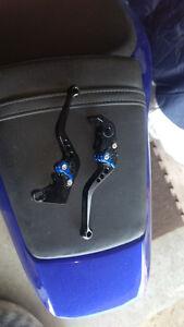 2003+ adjustable clutch and brake lever