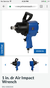 Never used Air Impact Wrench By PowerFist