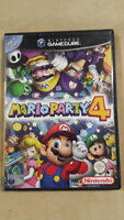 Gamecube Mario Party 4 – PAL Version