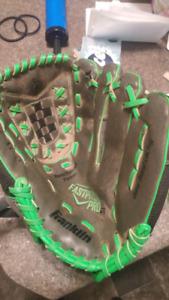 Girls softball glove