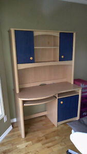 Large Storage Desk and Bins