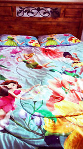 Disney Tinkerbell Full Size 3P Bedding Set
