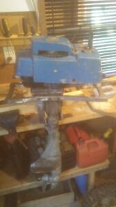 1960ish Blue Jet outboard