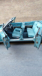 1967 Lincoln Continental convertible w 67 parts car 2 for 1