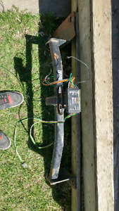 Trailer hitch and wiring  harnness $100