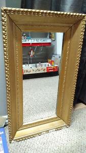 1920s Antique Mirror, Beautiful Original Plaster frame! (OBO)