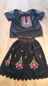 Hungarian ladies outfit