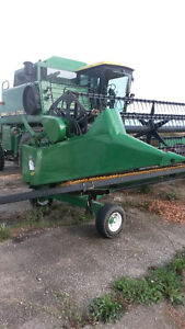 JD 920 Flexhead with Horst header cart