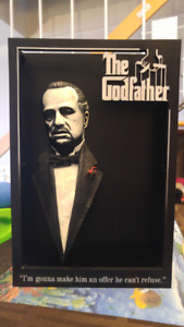 McFarlane Pop Culture The Godfather 3D Wall Art