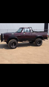 1977 Dodge Other Pickups Convertible