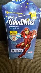 GoodNights bedtime pants size S-M