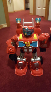 transformers optimus prime with sounds n lights
