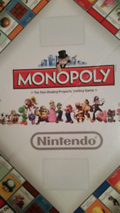 UNOPENED: Super Mario Monopoly Collector's Edition $50