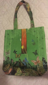 Brand new handmade eco bag with all natural color dye