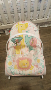 Baby Girls rocking/ vibrating  chair