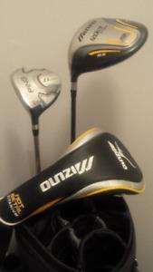 Ping Titleist Callaway Mizuno LH golf clubs