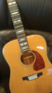 Gibson collectors 12 string accoustic