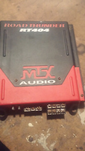 MTX RT404 400 Watt  Road Thunder 4 Ch Amplifier $100 OBO