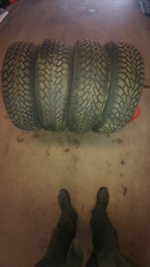 """VERY GOOD USED TIRES 14 15 16 17"""" DON 830-9544"""