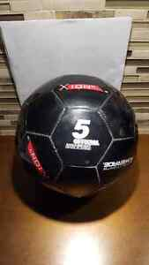 Black Powerade Soccer Ball Official Size 5