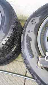 Winter tires on rims-off 2014 Jeep Cherokee