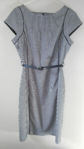 Houndstooth print fitted dress - size 8 petite Windsor Region Ontario image 1