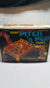 Vintage 1977 mickey mouse game