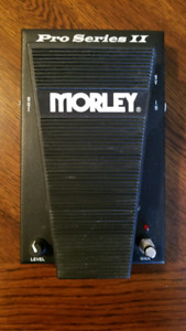 Morley Pro Series II Volume and Wah Pedal