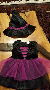 Halloween witch costume 1 yr 12-18 months - baby Girl