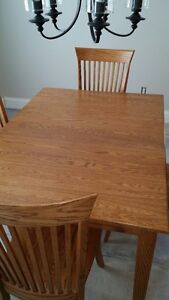 WHEATONS SOLID OAK DINING SET