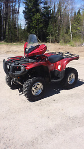 2013   Yamaha Grizzly  limited addition