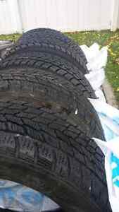 Toyo winter tires 4x100 honda civic