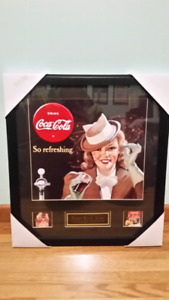 Professional framed Coca-Cola collections art