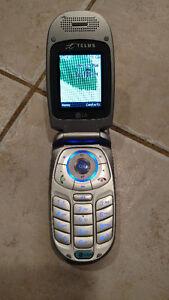 Cellulaire de type flip