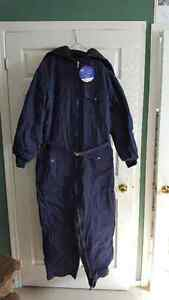 NEW Never Worn, Men's Denim Snowmobie Suit by Nikaldi, Size XL