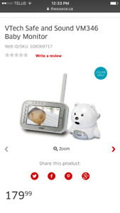 VTECH baby monitor brand new comes with all hook ups and screen