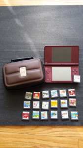 Nintendo ds xl for sale with 19 games