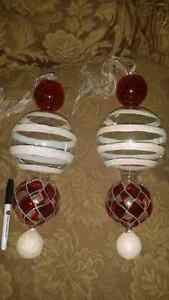 Handblown glass ornaments
