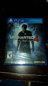 Uncharted 4 Brand new.