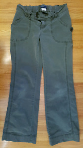 Thyme cargo maternity pants size small