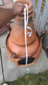 Chimney firepit great shape warm